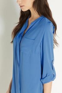 Блузка Синяя Купить Доставка