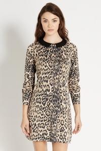 Купить Платье Леопардовый Принт